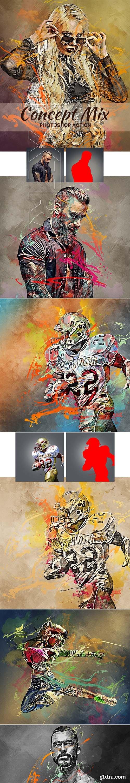 GraphicRiver - Concept Mix Photoshop Action 22263860