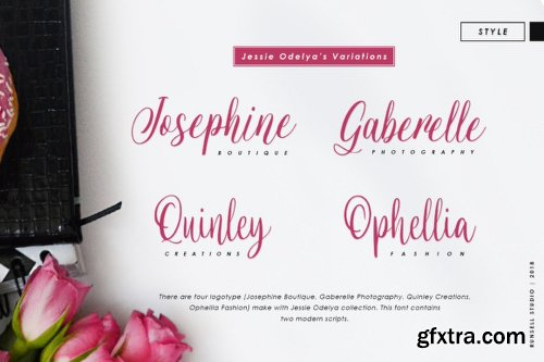 Jessie Odelya - 2 Fonts