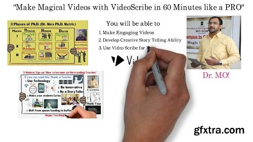 Master Video Scribe in 1 Hour to make Stunning White Board Animations