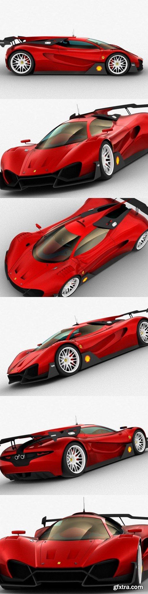 Ferrari Xezri 3D Model