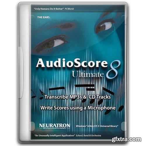 Neuratron AudioScore Ultimate 2018.7 v8.9.5 Portable