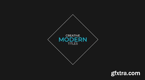 20 Minimal Titles Pack - After Effects 94010