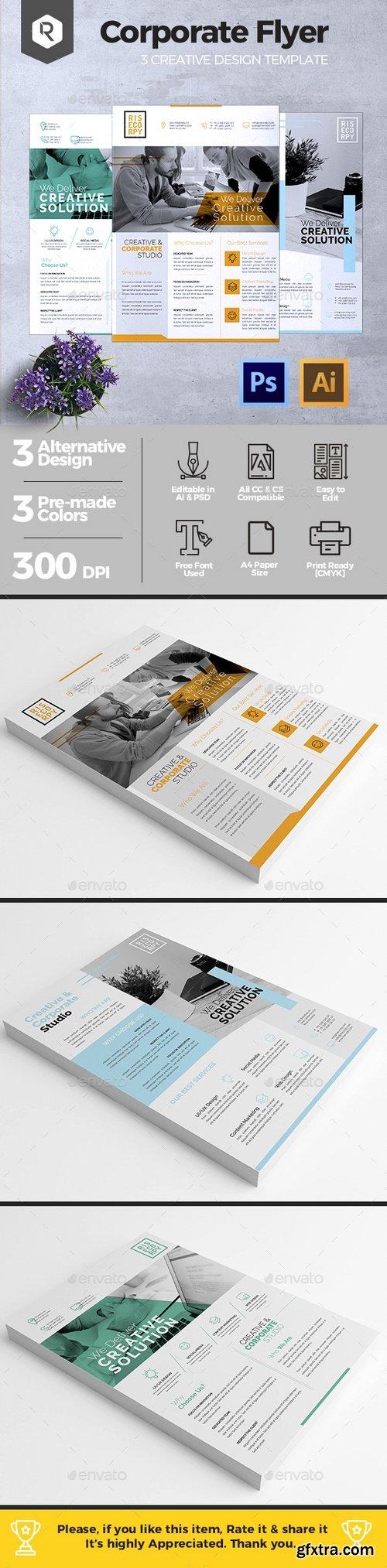 Graphicriver - Creative Corporate Flyer Vol. 02 20391929