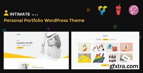 ThemeForest - Intimate v1.1 - Minimal Portfolio WordPress Theme - 20618096