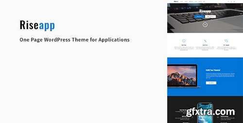 ThemeForest - Riseapp v1.0.1 - One Page WordPress Theme for Applications - 20796199