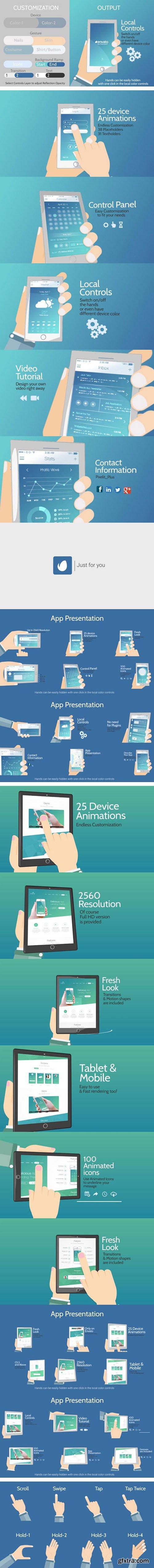 Videohive Cartoony App Promo 11417424