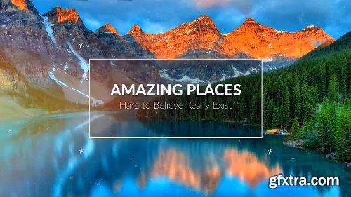 Videohive Amazing Places Parallax SlideShow 21634487