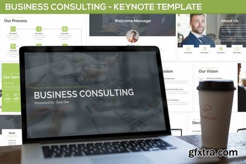 Business Consulting - Keynote Template