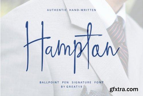 Hampton Font