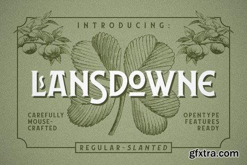 Lansdowne - 2 Fonts
