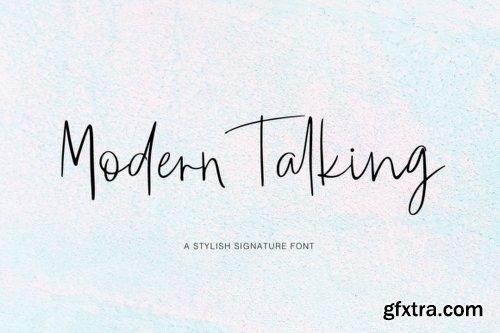 Modern Talking Font