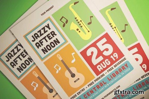 Simple Jazz Event Flyer
