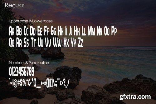Feondra Duo Font - 2 Fonts