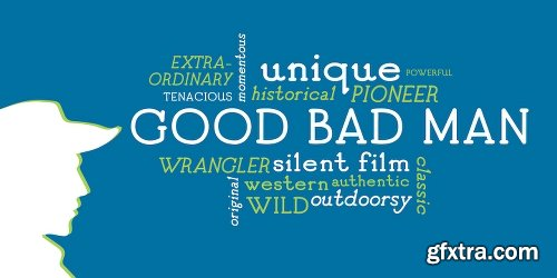 Good Bad Man Font Family - 2 Fonts