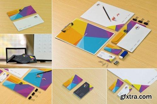 Stationery Design Mockups
