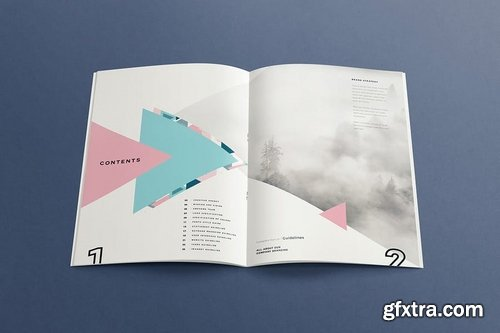 Polygonal - Brand Style Guide Template