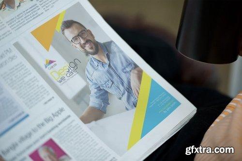 Newspaper Advertisement Mockups