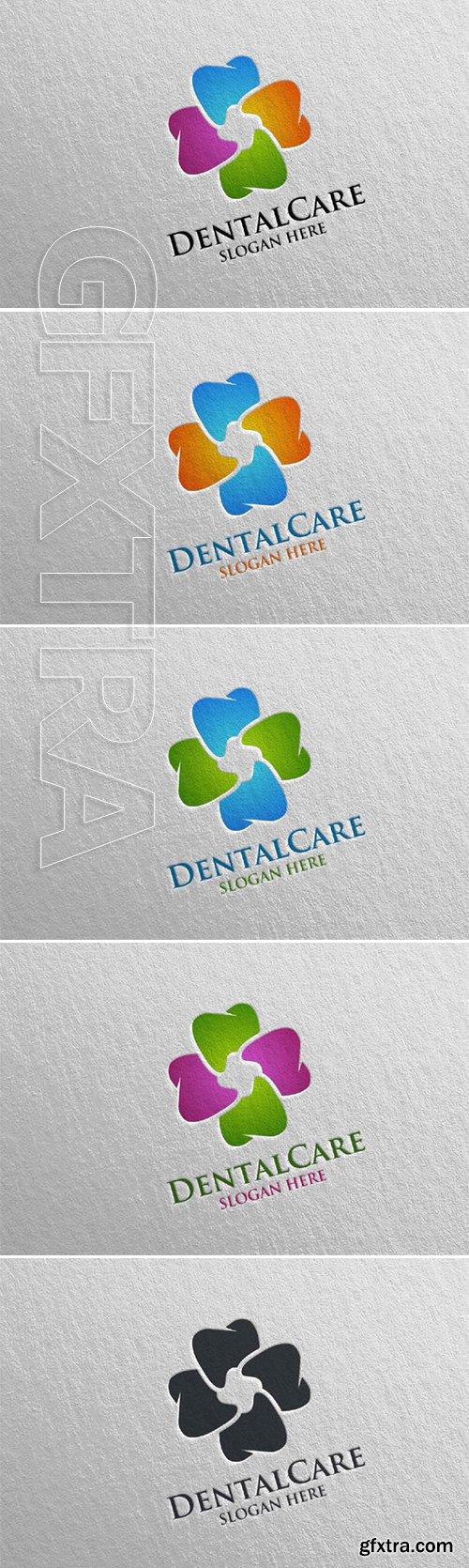 Dental Logo Dentist Stomatology Logo Design 36