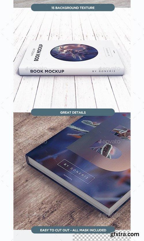 GraphicRiver - Book MockUp vol1 13004595