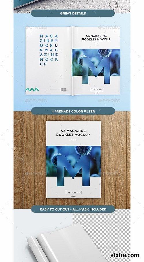 GraphicRiver - A4 Magazine MockUp vol1 13081667