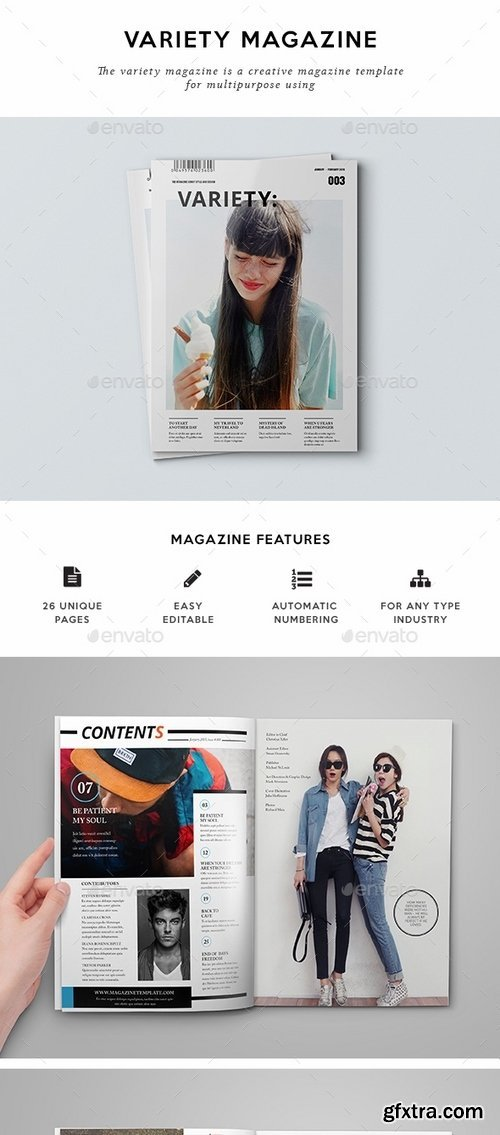 GraphicRiver - Magazine Template 14365921