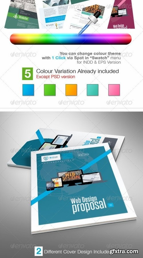 GraphicRiver - Web Proposal for Web Design Project 7259438