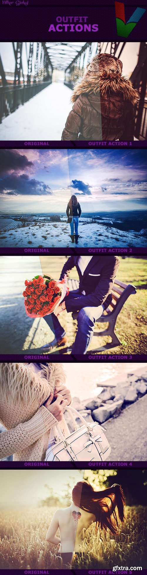 Graphicriver - Outfit Actions I 14318611