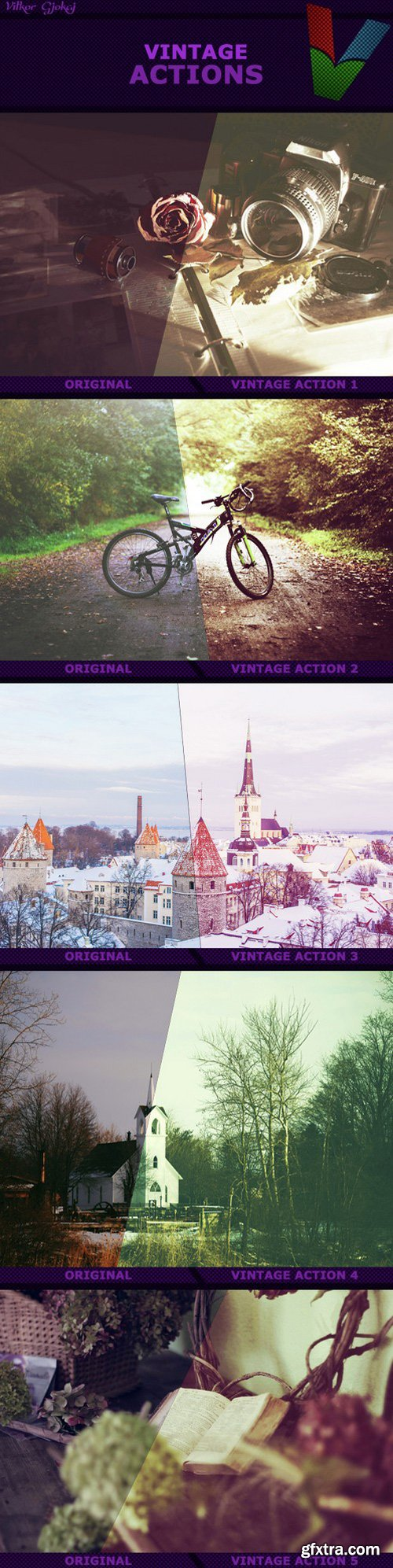Graphicriver - Vintage Actions I 14542647