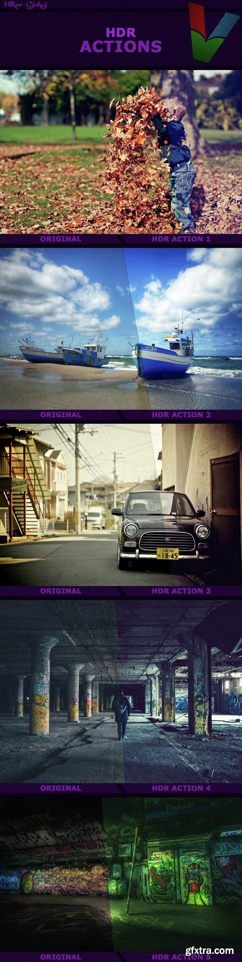Graphicriver - HDR Actions I 14678630