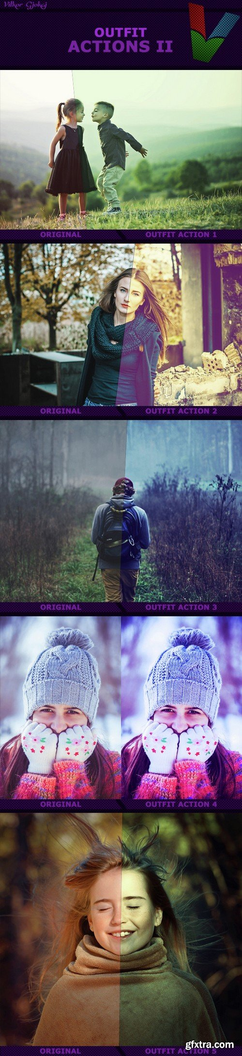 Graphicriver - Outfit Actions II 14865481