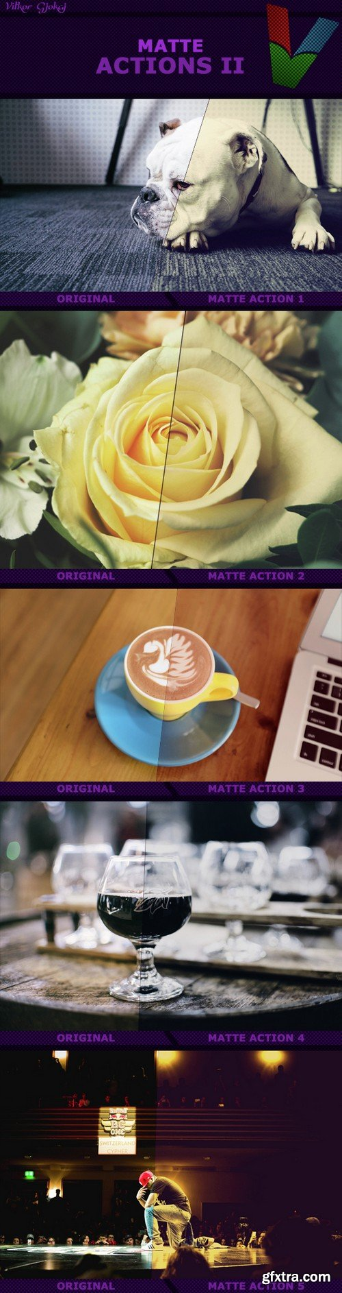 Graphicriver - Matte Actions II 15114221