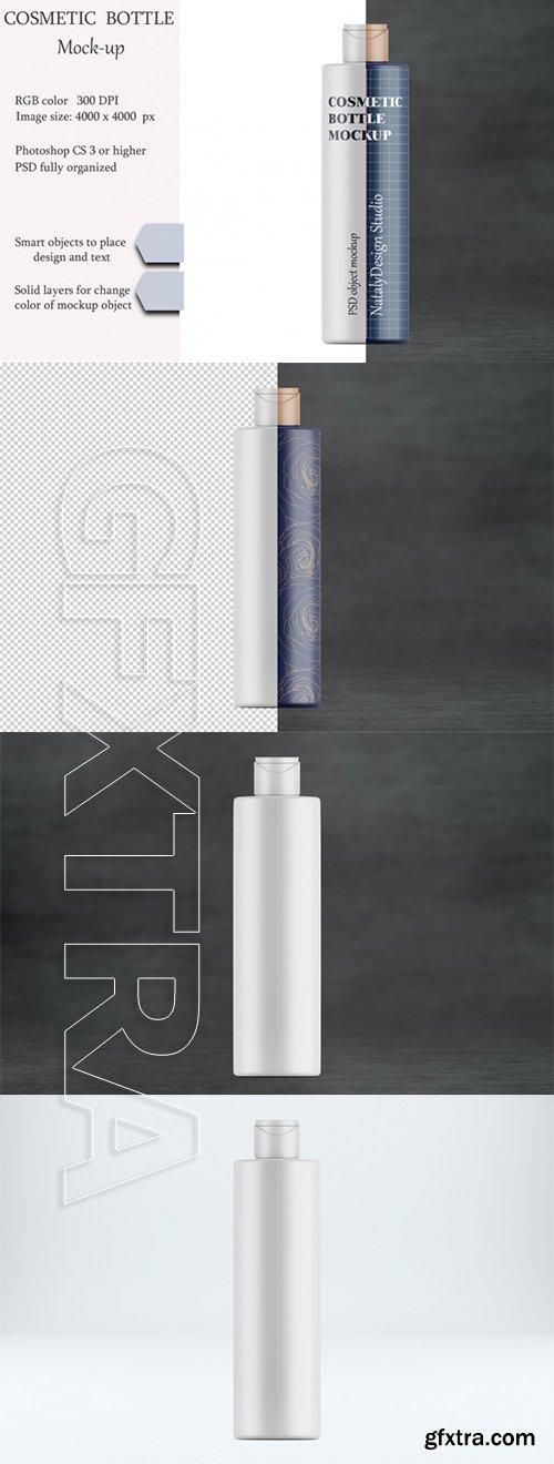 Cosmetic bottle mockup Product moclup