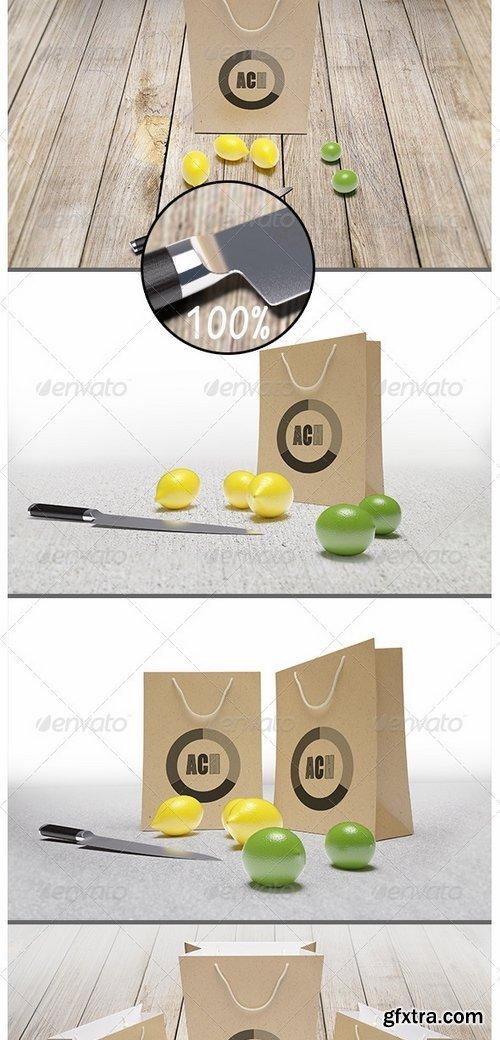 GraphicRiver - Paper Bag Mockup 8498847
