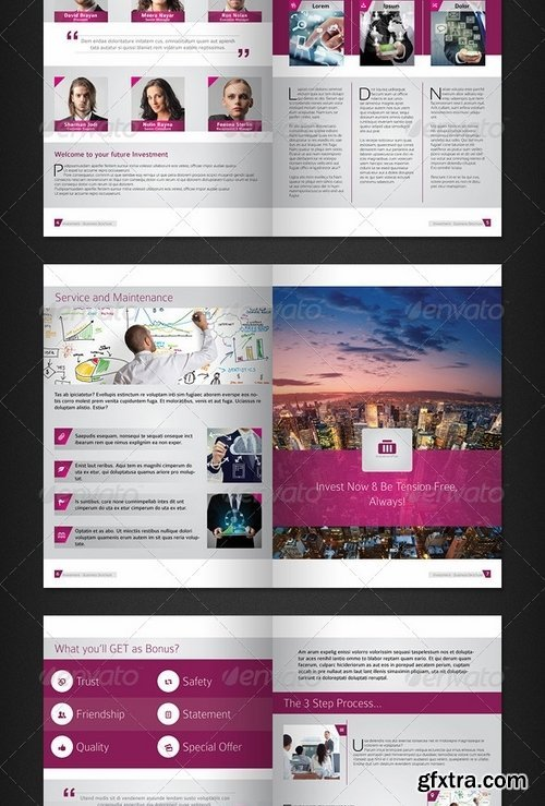 GraphicRiver - Investment Plan - 16 Pages Business Brochure 6603457