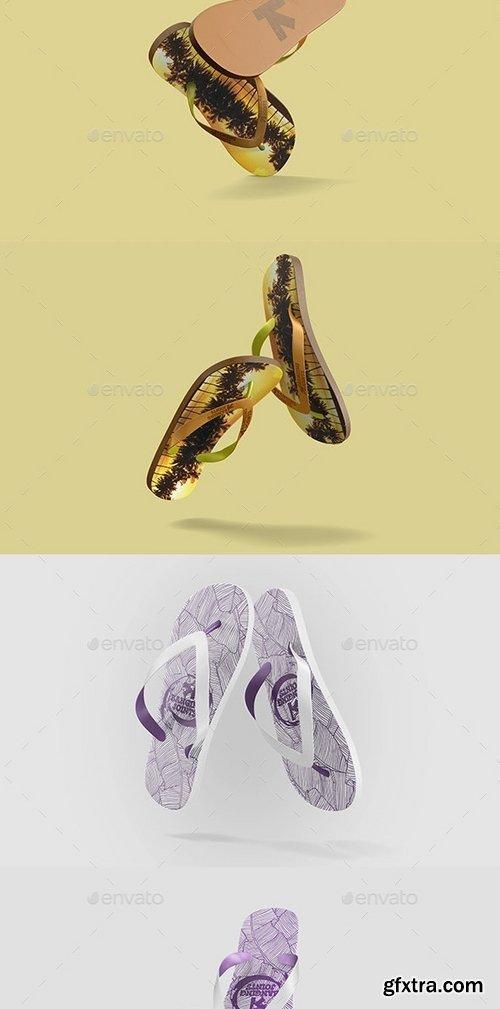 GraphicRiver - Flip Flops  Sandals Mock-Up 11064484