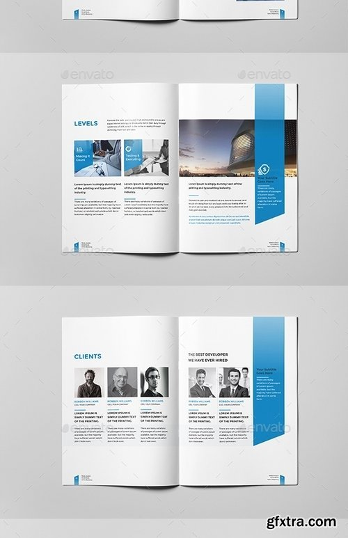 GraphicRiver - Corporate Business Brochure 16 Pages A4 14539762