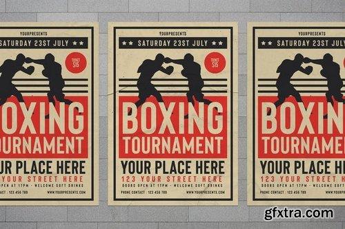 Boxing Tournament Flyer