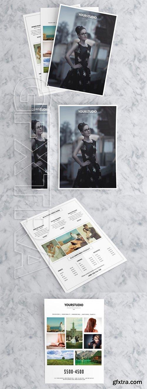 Photography Price List Marketing Flyer