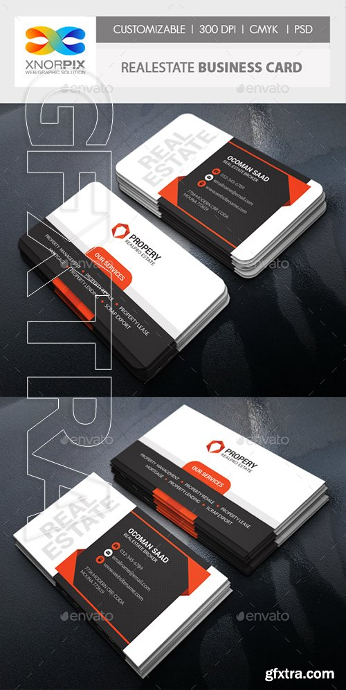 GraphicRiver - Realestate Business Card 22309492