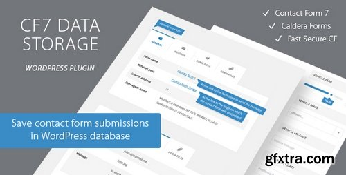 CodeCanyon - Contact Form CF7 Data Storage v1.1 - 20494019