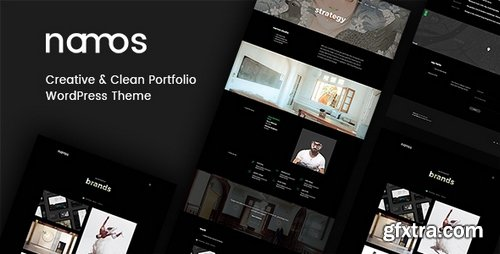 ThemeForest - Namos v1.1.0 - Creative One/Multi-Page Portfolio WordPress Theme - 20864455