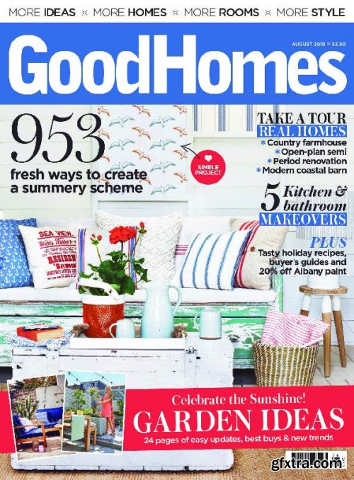 GoodHomes UK – August 2018