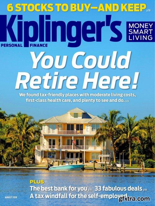 Kiplinger's Personal Finance - August 2018