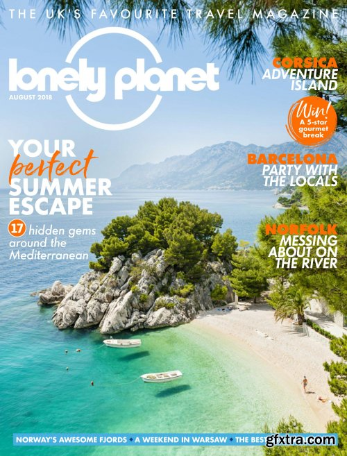 Lonely Planet Traveller UK - August 2018