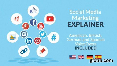 Videohive Social Media Marketing Explainer 11183364