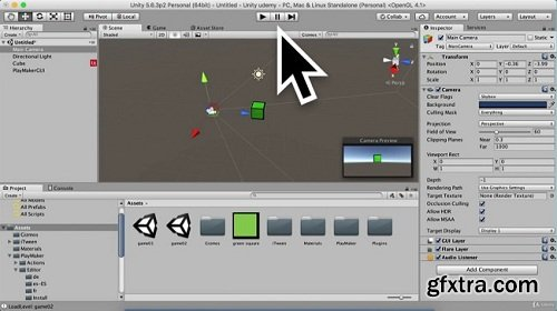 Unity - Visual scripting unity - Playmaker 3D