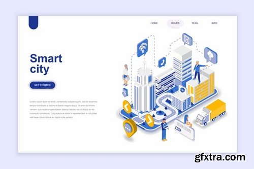 Isometric Vector Design Elements