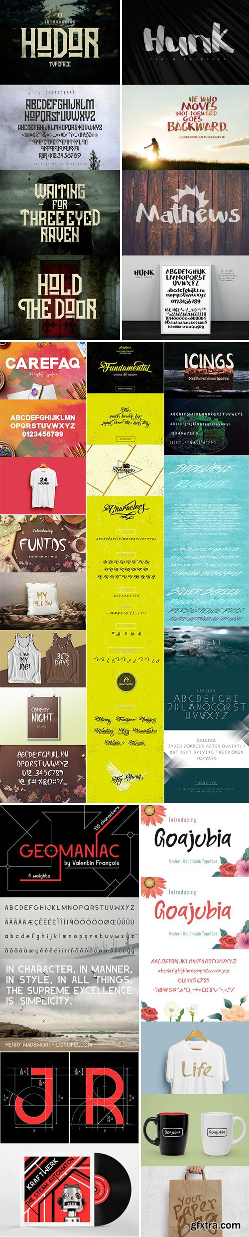 Mix Fonts Bundle 19