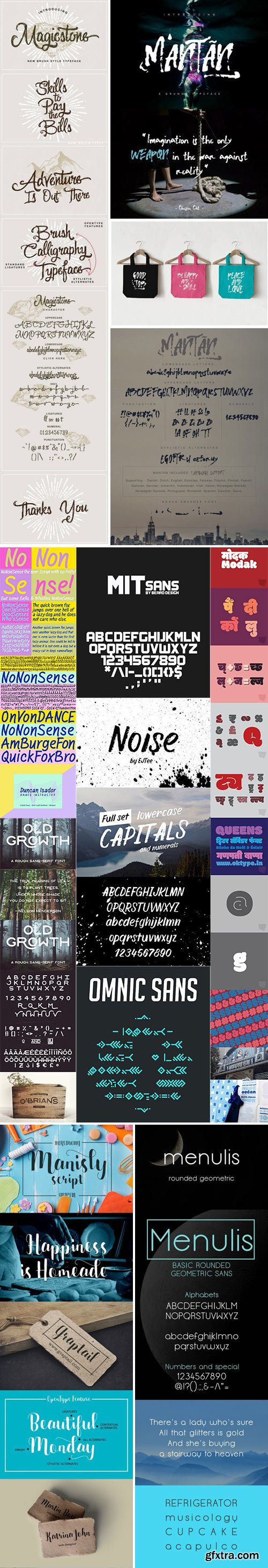 Mix Fonts Bundle 21