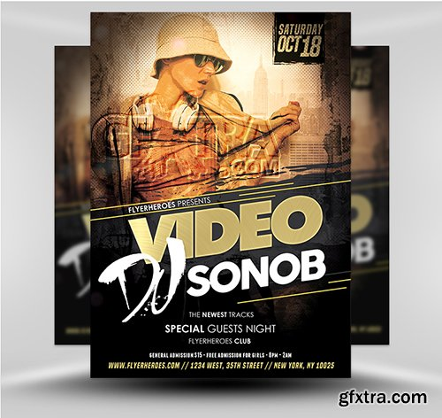 DJ Video Flyer 5